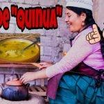 Sopa de Quinua a FOGON para la Cuarentena   La Warmi Rosa
