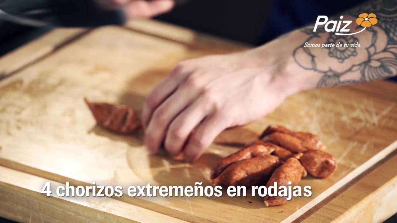 Superchef - Receta Paella Valenciana