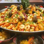 Video de paella de mariscos
