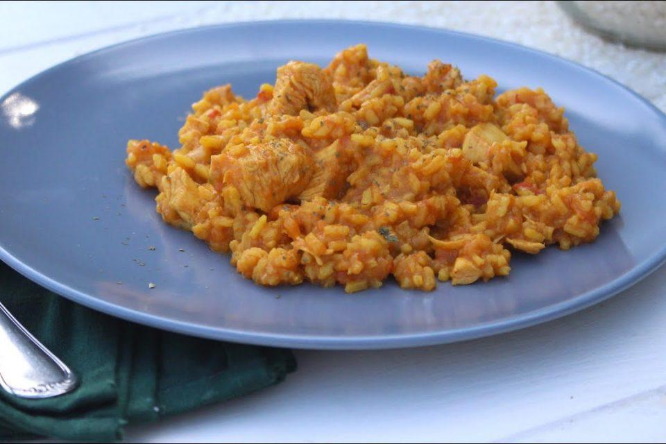 Arroz con pollo en Mambo ¡QUEDA DIVINO!