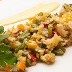 Arroz con pollo y verduras - Cocina Abierta de Karlos Arguiñano