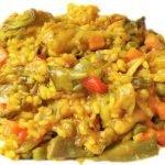 Arroz con pollo y verduras - Cocina andaluza y española | Andalucía Videorecetas