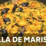 🦐 CÓMO hacer una PAELLA DE MARISCOS - Paso a paso - Chef Elias Marin