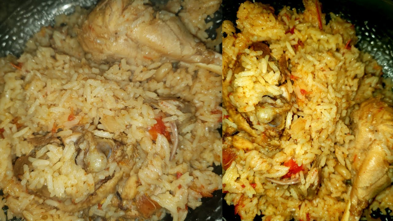 Chicken Pulao Recipe | Arroz Con Pollo | Simple Chicken Pulao