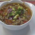 Como hacer sopa de germinados de soya
