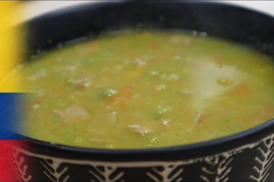 Como preparar sopa de arveja