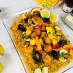 Episodio 3 Ramadán: 7 paella de mariscos