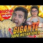 😱🍜LA SOPA INSTANTÁNEA GIGANTE MAS RICA DEL MUNDO😋