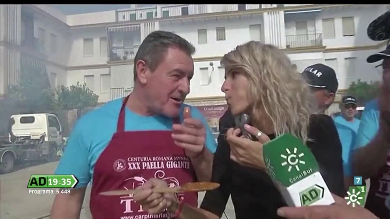 La Paella Gigante de la Centuria Romana Mvnda, en 'Andalucía Directo'