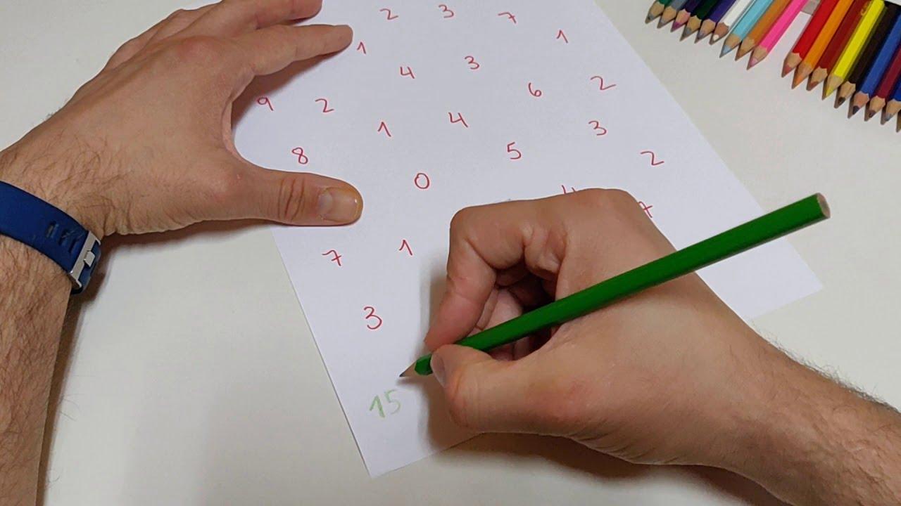 MATEMÁTICAS - Sopas de números