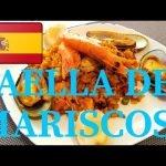 PAELLA DE MARISCOS PASO A PASO EN MENOS DE 4 MINUTOS 🐙🐚♥️🤤😨    Receta en la Descripción