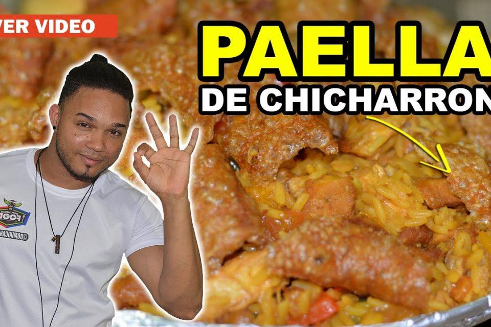 Paella de Chicharrón, Exquisita, Jugosa y Deliciosa - (PorcaoRD) - Conoce Mi Negocio