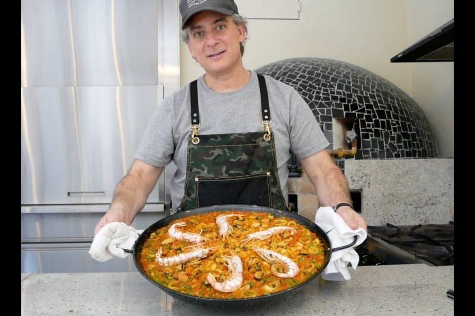 Paella marinera al horno