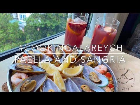 Paella y sangría - Cocinar Ala Reych