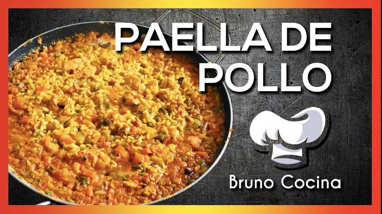 Receta PAELLA DE POLLO Española | Bruno Cocina  EPISODIO 05