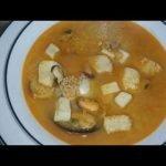 Sopa de marisco (económica y riquísima)