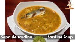 Sopa de sardina //  Sardine Soup