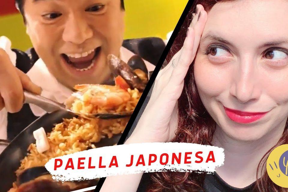 ¡ASÍ ES LA PAELLA EN JAPÓN! LA PEDIMOS A DOMICILIO // Yunae