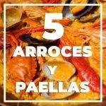 5 arroces y paellas de Marina Ventura, una de las mejores arrocerías de España, en Madrid centro