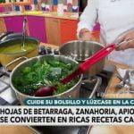 Aprende a hacer una sopa de hojas verdes | Bienvenidos
