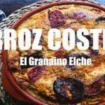 Arroz Costra de Elche RECETA VERDADERA Restaurante El Granaino Paellas y Arroces (ArturG)