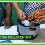 Arroz con Pollo Chino hecho en casa