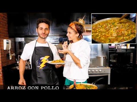 Arroz con Pollo al mejor estilo Venezolano    Con #Rayito Debryanshow y Grecia