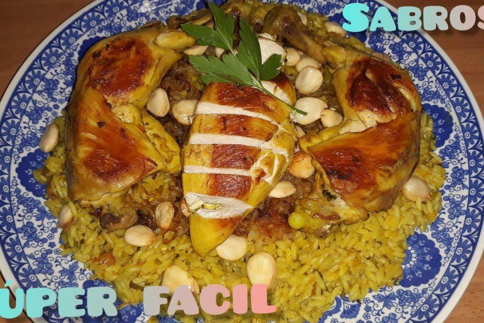 Arroz  , con pollo, ARABE , SUPER FACIL,