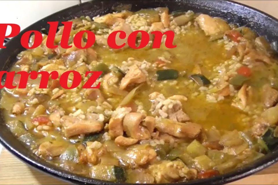 Arroz con pollo y verduras - cocina casera