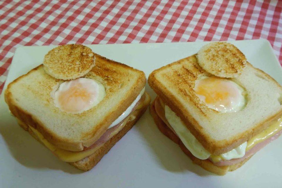 Cómo hacer un delicioso sandwich con huevo en 5 minutos