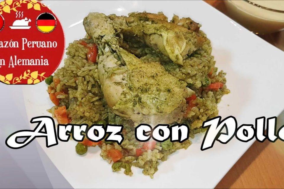 Cocinando Arroz Con Pollo En Alemania/ Mi Sazón Peruano En Alemania.