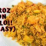 Como hacer receta de arroz con pollo [SO EASY] El | Receta de pollo y arroz | Simplemente Maha