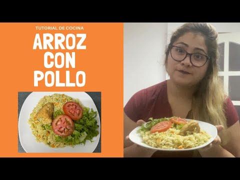 Como preparar Arroz con Pollo : Fácil y Rápido