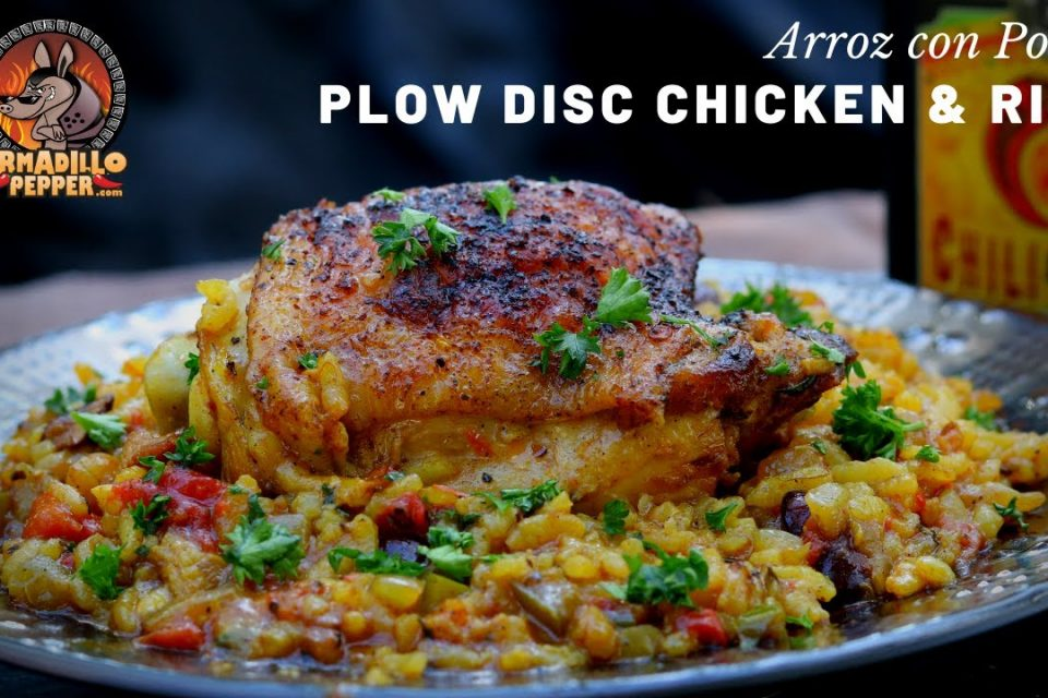Discada Cooking Disc | Pollo y Arroz | Arroz con pollo