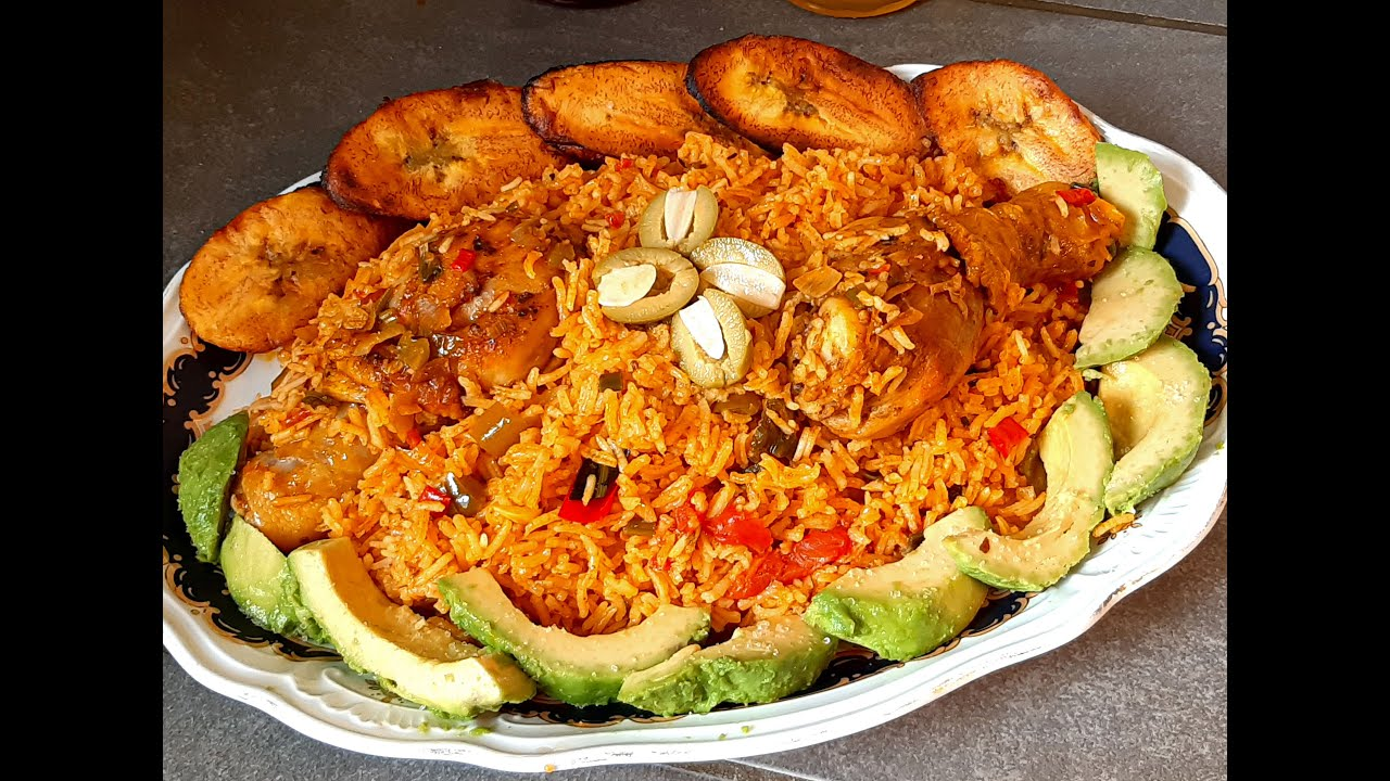 El mejor Arroz Con Pollo Receta de mi Abuela Cubana Paso a paso