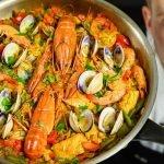 Paella española pa Paella española】 ¡Simple y deliciosa! Una deliciosa receta para compartir.