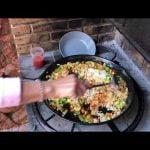 Receta Paella con jamón de pato