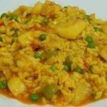 Receta fácil de arroz meloso de sepia
