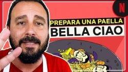 Receta para preparar paella con Tulio Recomienda | La Casa de Papel