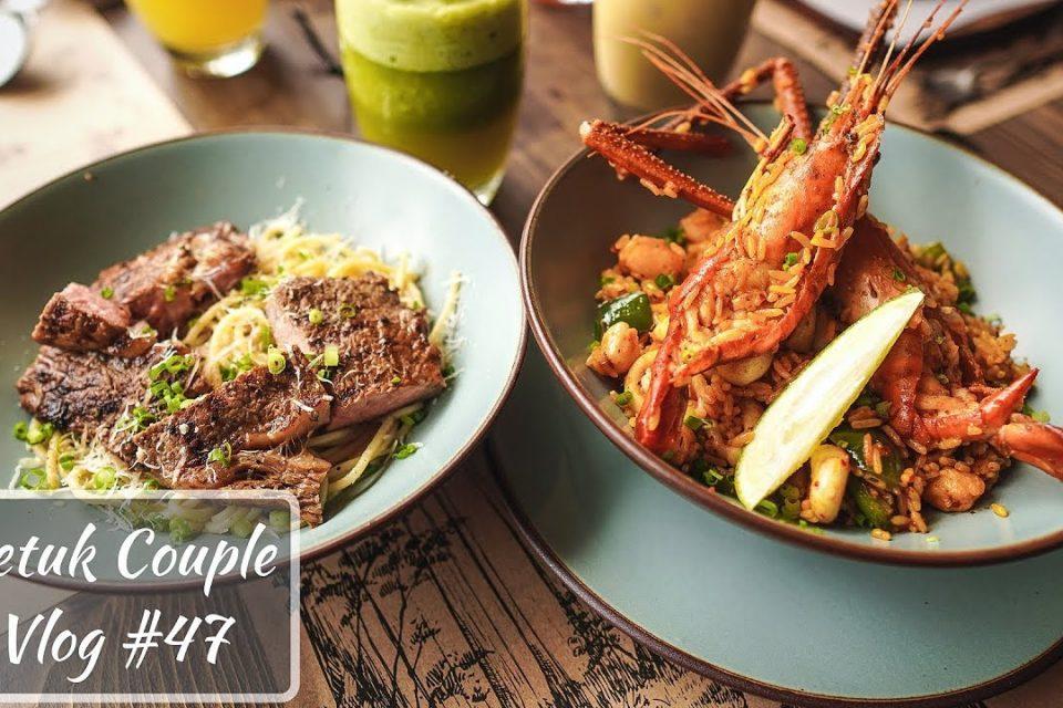 Rib Eye Steak Pasta y Mariscos Paella || Después de Eid Hangout en The Grove Bistro con DhakaSlurps
