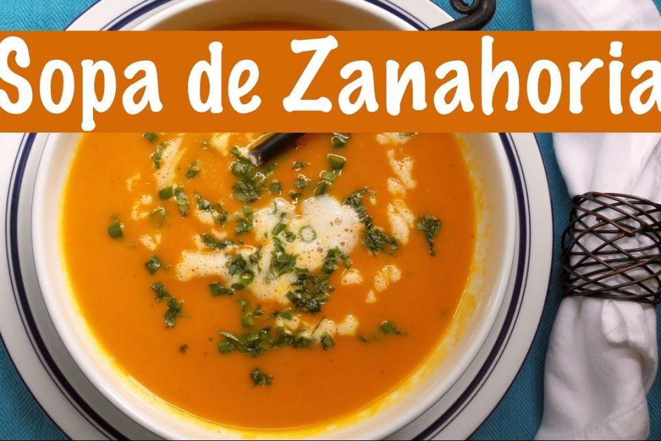 Sopa de Zanahoria | Desintoxicante y Vegana | The Frugal Chef