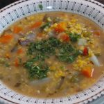 Sopa de cuchuco de maiz - como preparar sopa de cuchuco de maiz amarillo
