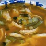 Sopa  keto  de pollo con verduras| receta fácil para diabéticos y dieta keto
