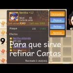 Tales of Wind - ToW! Para que sirve refinar cartas en Tales of Wind!!!
