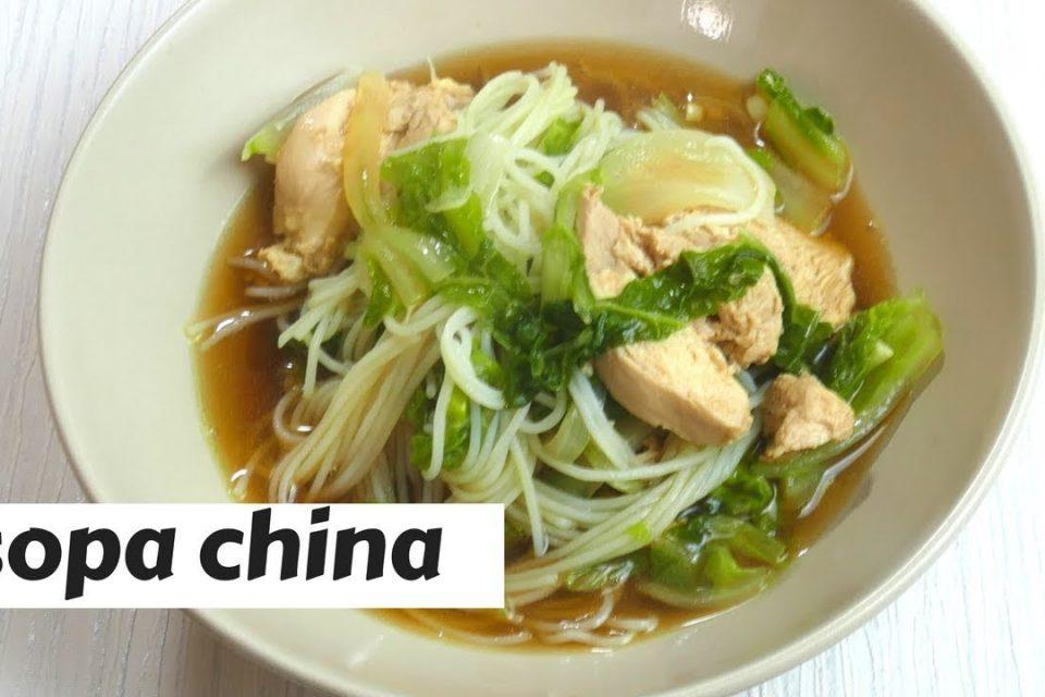 sopa china