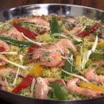 पैल्ला    Cómo hacer paella    Mejor paella en casa    Comida Ka Mood    Living Foodz    LF