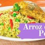 😋 ARROZ CON POLLO PERUANO ✅ UNA SENCILLA Y DIVERTIDA RECETA / Peruvian Food 😋
