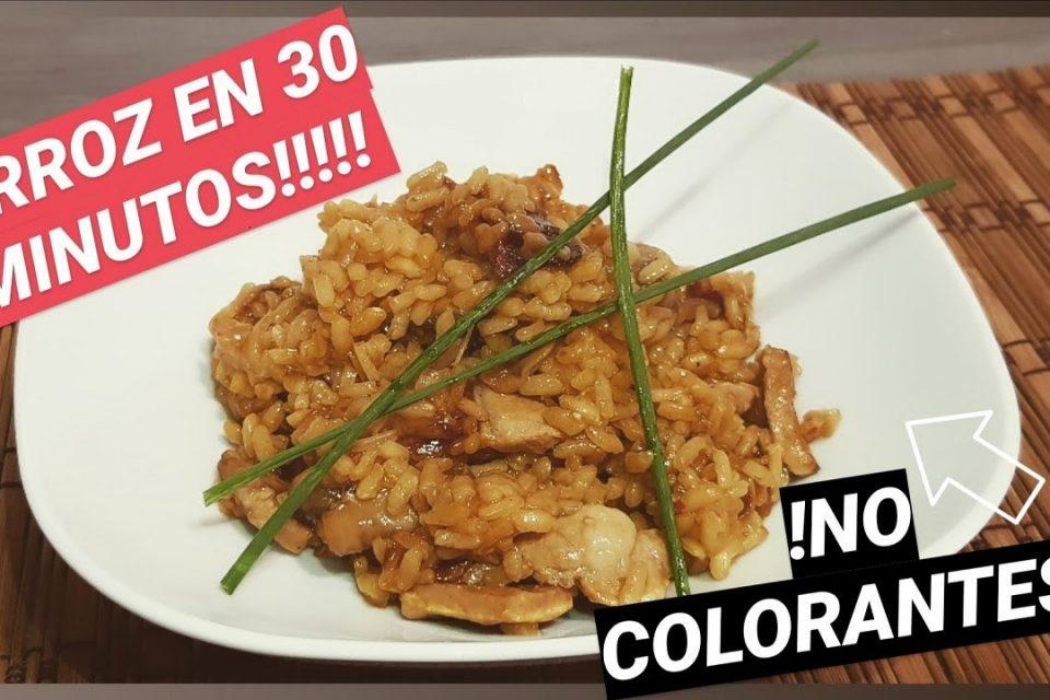 """ARROZ en Paella,  Magro y """"verduras"""" ( champiñones y repollo) ¡¡ SIN COLORANTES!!"""
