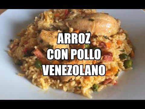 Aprende a Preparar un Arroz con Pollo Venezolano| Receta Facil