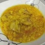 Arroz caldoso con pollo en Mambo!! Iris Cocinando con Mambo!!